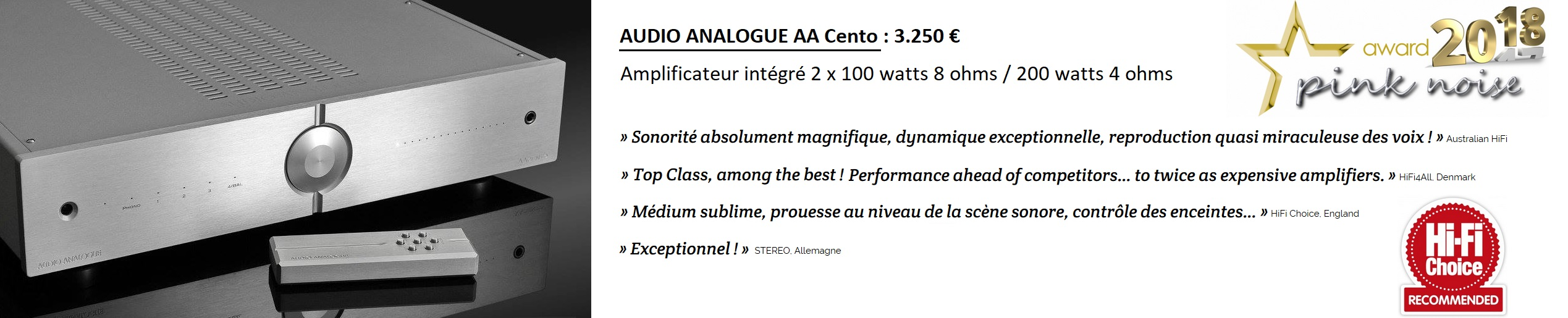 Audio AnalogueAACento