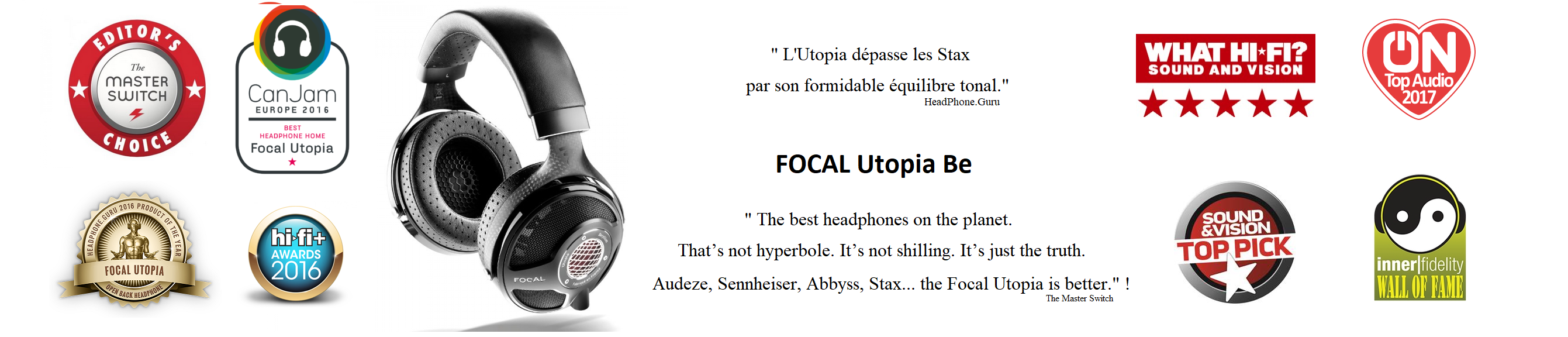 Focal Utopia Award