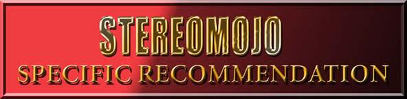 STEREOMOJOSPECIFICRECOMMENDATION