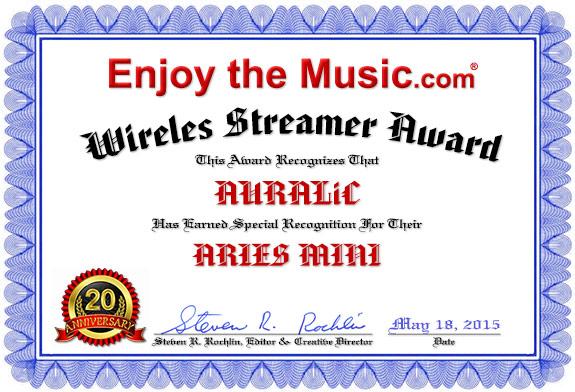Auralic Award - MINI