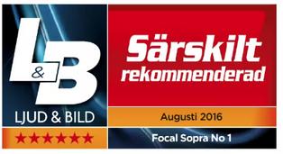 Focal Sopra 1 award