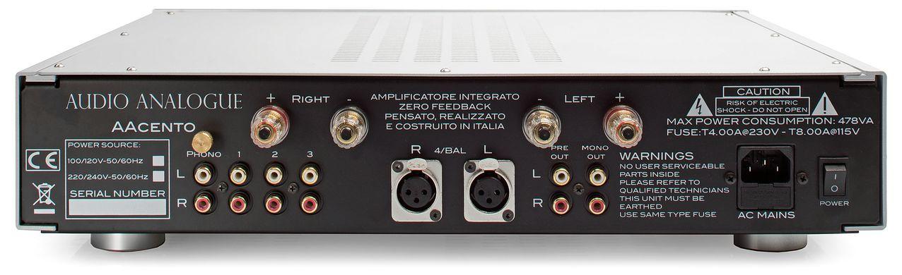 Audio analogue AcentoBack