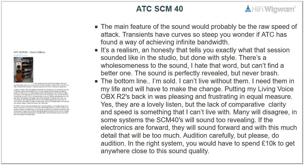 ATC SCM40 test2