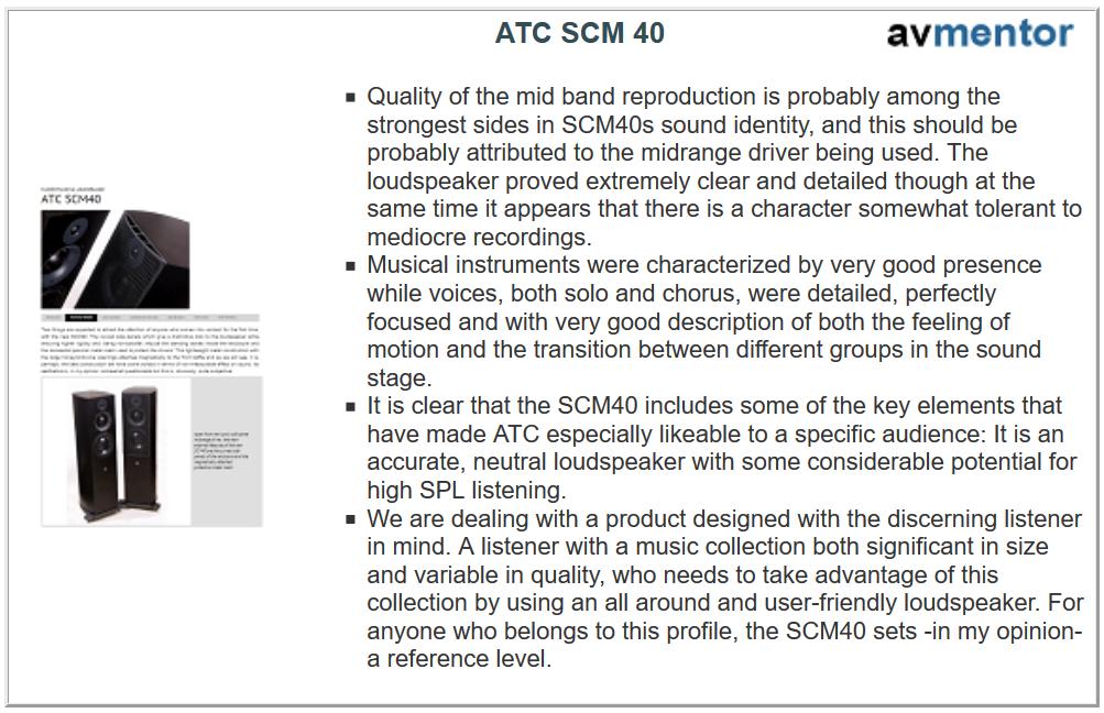 ATC SCM40 test3